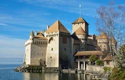Chateau de Chillon Lizenzfreies Stockbild