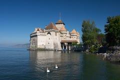 Chateau de Chillon. On Lake Geneva, Switzerland Royalty Free Stock Image