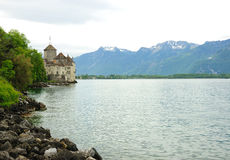 Chateau de Chillon Royalty Free Stock Photo