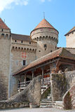 Chateau de Chillon fotos de archivo