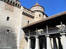 Chateau de Chillon stock photo