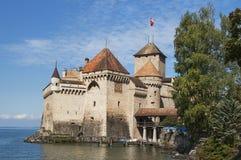 Chateau DE Chillon Royalty-vrije Stock Fotografie