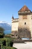Chateau DE Chillon Royalty-vrije Stock Foto's