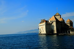 Chateau de Chillon Stockbild