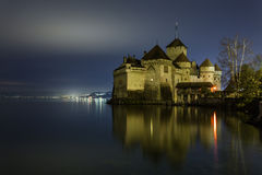 Chateau de Chillon, Montreux, Siwtzerland Stock Images