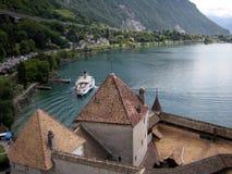 Chateau de Chillon, Montreux, Suisse image stock