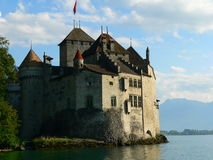 Chateau de Chillon, Montreux ( Suisse ) Stock Photo