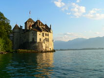 Chateau de Chillon, Montreux ( Suisse ) Royalty Free Stock Photo