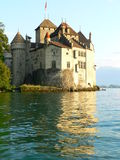 Chateau de Chillon, Montreux ( Switzerland ) Stock Photo