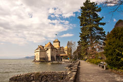 Chateau de Chillon, Montreux Stock Photo