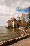 Chateau de Chillon, Montreux Stock Image