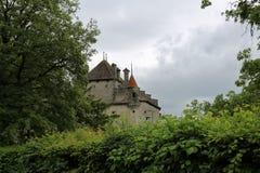 Chateau de Chillon, Montreux, Switzerland Stock Photo