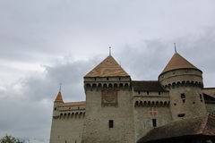 Chateau de Chillon, Montreux, Switzerland Stock Photo