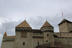 Chateau de Chillon, Montreux, Switzerland Stock Image