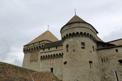 Chateau de Chillon, Montreux, Switzerland Stock Images