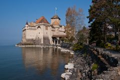 Chateau de Chillon Switzerland Royalty Free Stock Photography