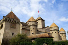 Chateau de Chillon, Switzerland Royalty Free Stock Image