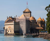 Chateau de Chillon Royalty Free Stock Images