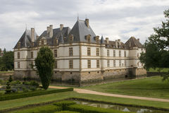 Chateau de Cormatin stock photos