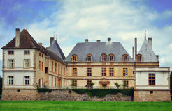 Chateau de Cormatin, Burgundy, France Stock Photography