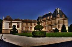 Chateau de Cormatin stock photos