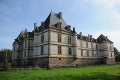 Chateau De Cormatin / Cormatin Castle Royalty Free Stock Photography