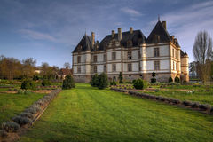 Chateau de Cormatin, France Stock Image