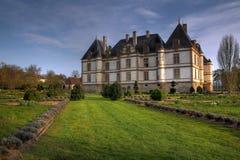 Chateau DE Cormatin, Frankrijk stock afbeelding