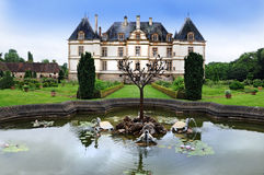 Chateau de Cormatin Royalty Free Stock Photos