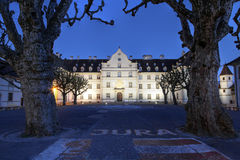 Chateau de Delemont, Jura, Switzerland royalty free stock photo