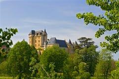 chateau de dordogne fayrac Royaltyfria Foton