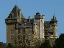 chateau de dordogne france montfort Royaltyfri Foto