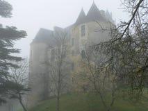 Chateau de Fayrac, castelnaud-Λα-Chapelle (Γαλλία). στοκ φωτογραφία με δικαίωμα ελεύθερης χρήσης