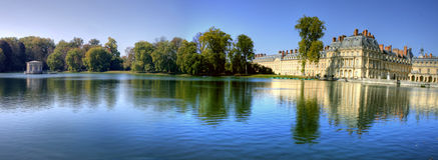 Chateau de Fontainbleu , France Royalty Free Stock Photos