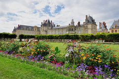 Chateau de Fontainebleau Royalty Free Stock Photo