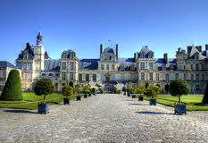 Chateau de Fontainebleau, France Stock Image