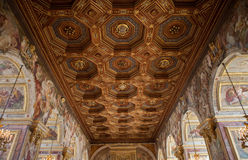 Chateau de Fontainebleau, France, interiors details Royalty Free Stock Photos