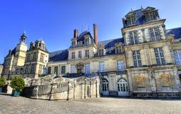Chateau de Fontainebleau , France Stock Images