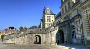 Chateau de Fontainebleau , France Royalty Free Stock Images