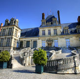 Chateau de Fontainebleau , France Stock Photography