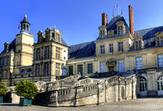Chateau de Fontainebleau , France Stock Photos