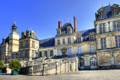 Chateau de Fontainebleau , France Royalty Free Stock Image
