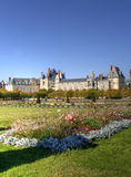 Chateau de Fontainebleau , France Stock Image