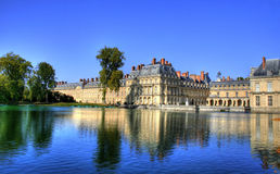 Chateau de Fontainebleau , France Royalty Free Stock Photos