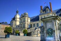 Chateau de Fontainebleau, Frankrike Fotografering för Bildbyråer