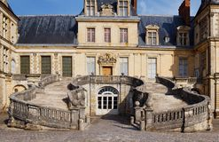 Chateau de Fontainebleau, Paris Stock Photography