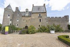 Chateau de Fontenay Royalty Free Stock Image