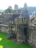 Chateau de Fougeres ( France ) Royalty Free Stock Image