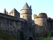 Chateau de Fougeres ( France ) Royalty Free Stock Photos