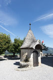 Chateau de Gruyères, Switzerland stock photography